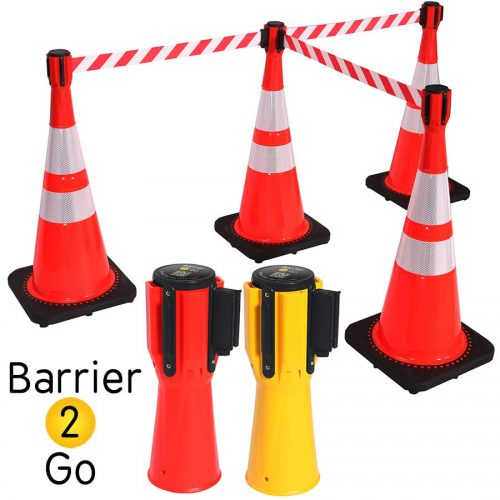 Cone-Mount-Retractable-Belt-Barrier-op