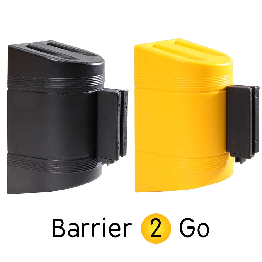 Plastic Wall mounted Barrier