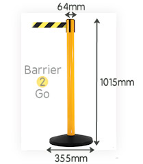 budget-safety-retractable-barrier-post-specs