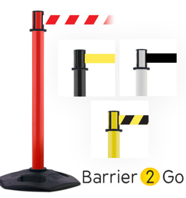 heavy duty 3m retractable barrier