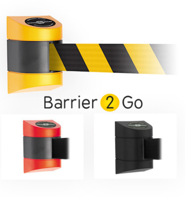 4.6m wall mounted retractable barrier