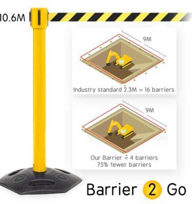 Extra-Long-Heavy-Duty-Tensa-Barrier-Post-10M