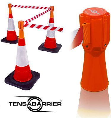Traffic-Cone-tensabarrier-at-barrier2-Go